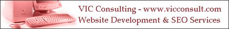 VIC Consulting - Web Site development and SEO services